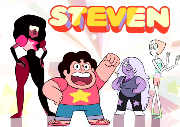 Magical girls: Steven Universe/Steven Universo