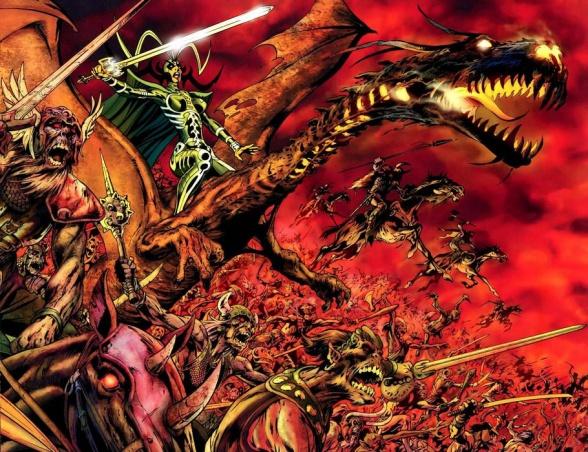 vengadores guerras asgardianas 3