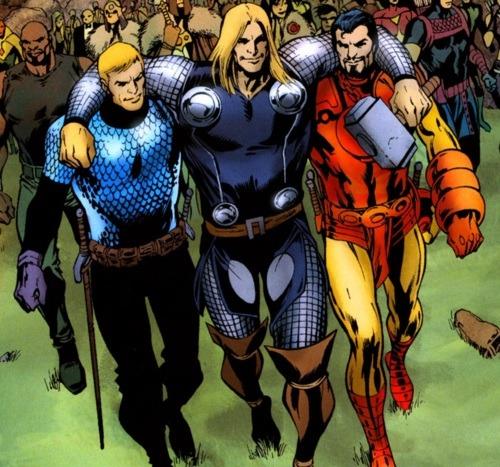 vengadores guerras asgardianas 4