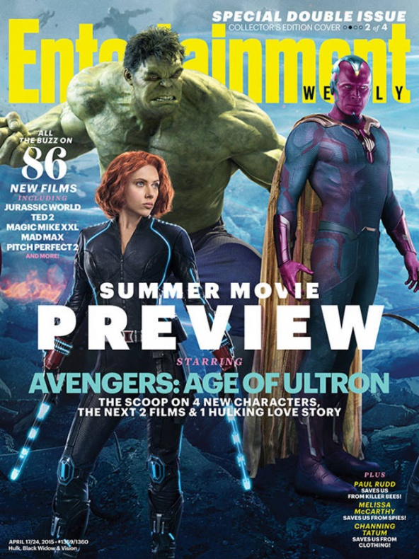 vengadores la era de ultron entertainment weekly portada 2