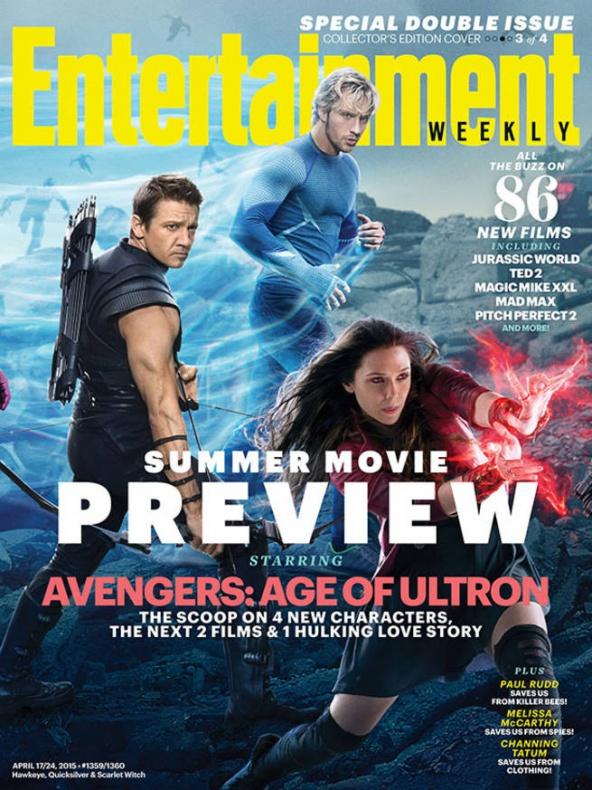 vengadores la era de ultron entertainment weekly portada 3