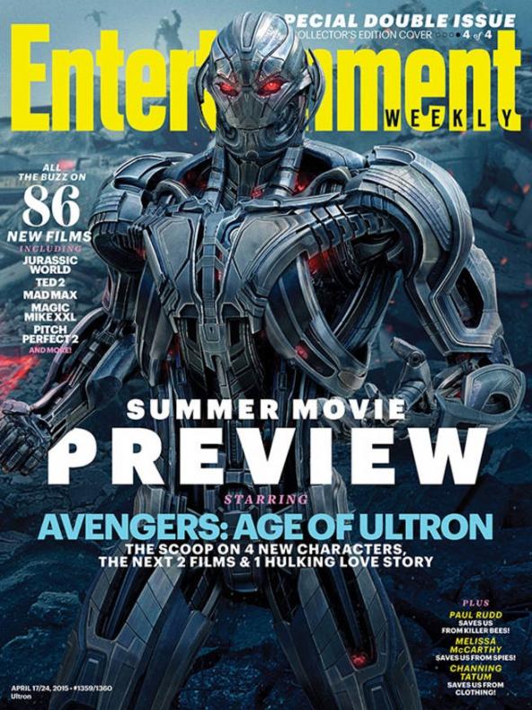 vengadores la era de ultron entertainment weekly portada 4