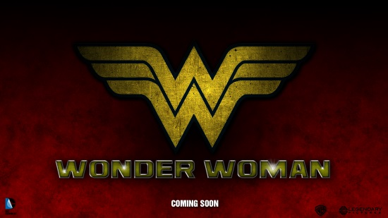 Wonder Woman movie logo fanmade