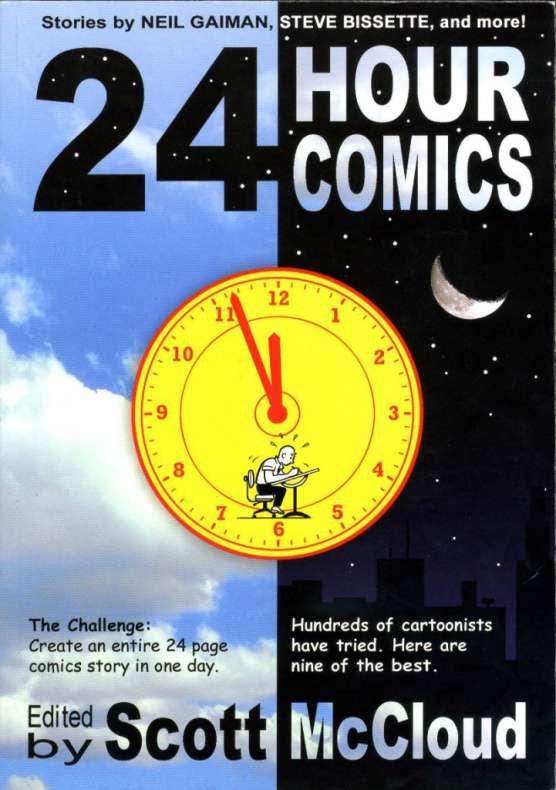 24 hour comics scott mccloud