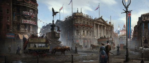 Assassins Creed Syndicate Piccadilly concept art