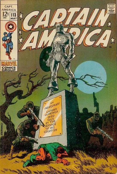 Captain America Vol 1 113