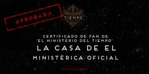 Certificado Ministerio
