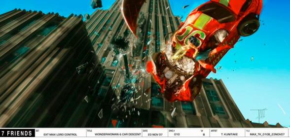 George Miller's Justice League Wonder Woman concept art 02
