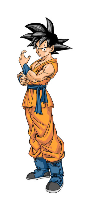 Goku en el manga Dragon Ball Super