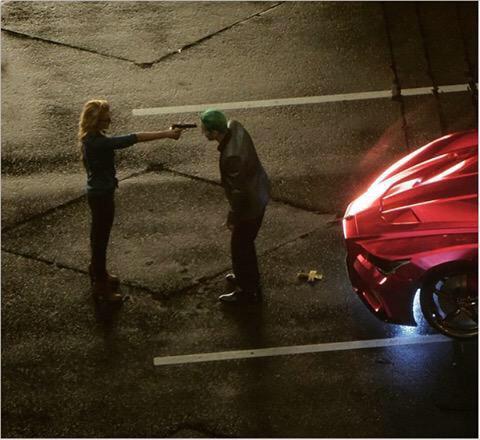 Harley y Joker en el rodaje 05