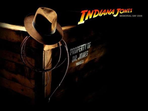 Indiana Jones - sombrero y látigo