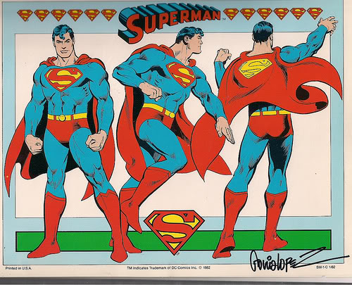 José Luis García Lopez Superman