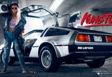Kung Fury Delorean
