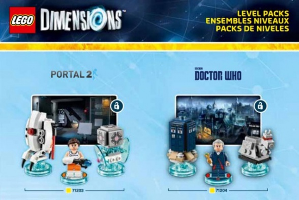 LEGO DIMENSIONS Doctor Who y Portal 2