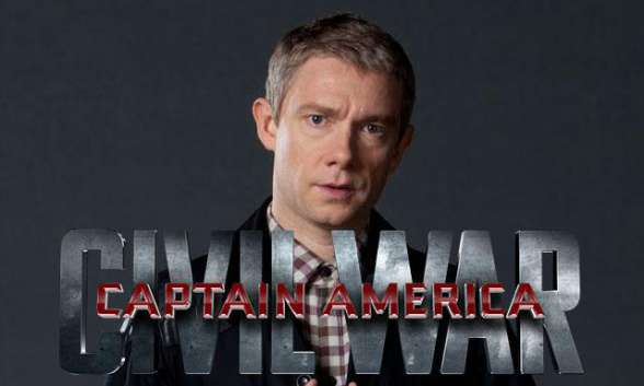 Martin Freeman Capitán América Civil War