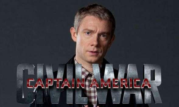 Martin Freeman Capitán América Civil War