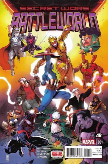 Secret Wars: Battleworld Nº1 previa 01