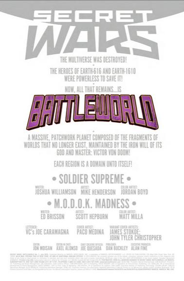 Secret Wars: Battleworld Nº1 previa 04