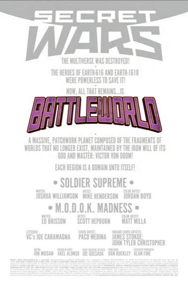 Secret Wars: Battleworld Nº1 previa 04