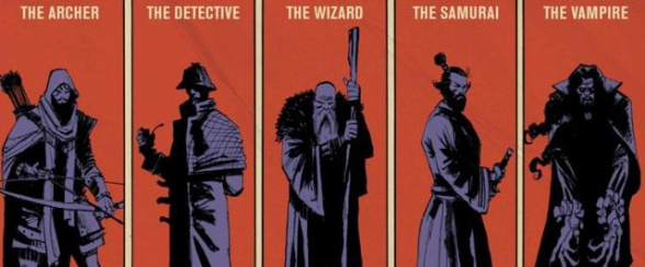 Series Five Ghosts