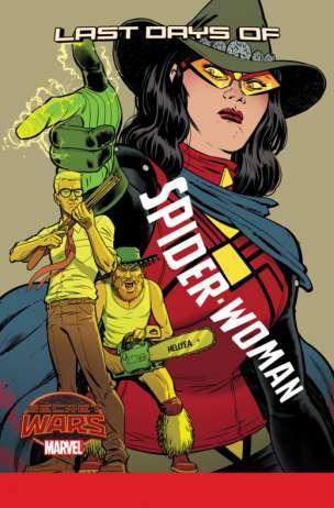 Spider-Woman #10 por Javier Rodríguez
