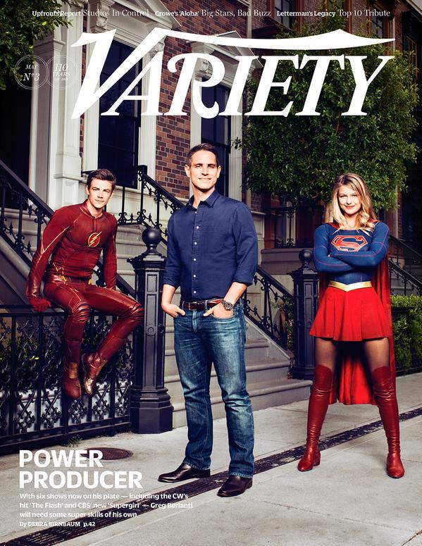 Supergirl Flash Variety 01