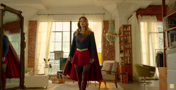 Supergirl - uniforme definitivo