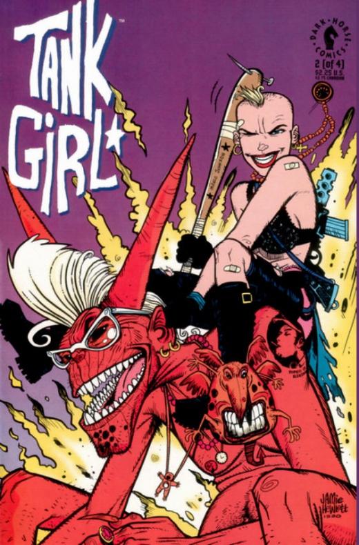 'El integral de Tank Girl' de Alan Martin y Jamie Hewlett