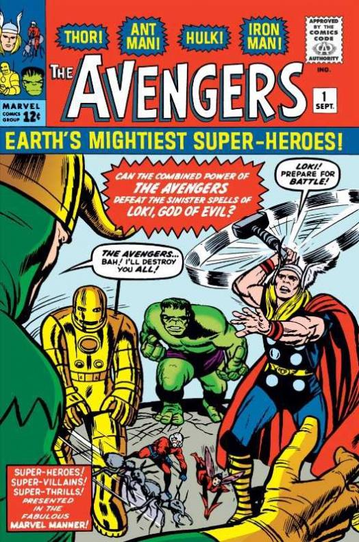 The Avengers 001