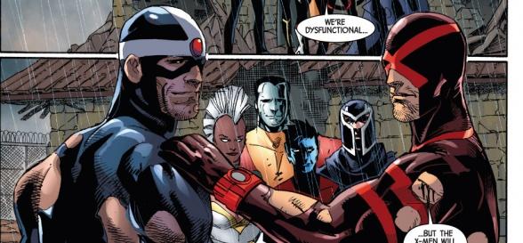X-Men: apocalipsis padres de Havok y Cíclope