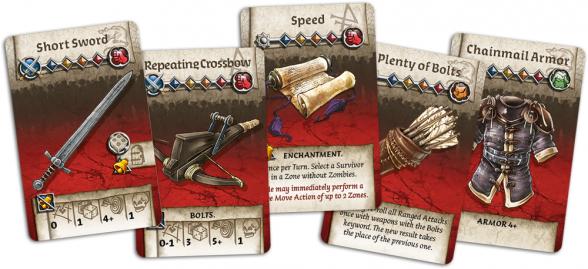 Zombicide Black Plague cartas