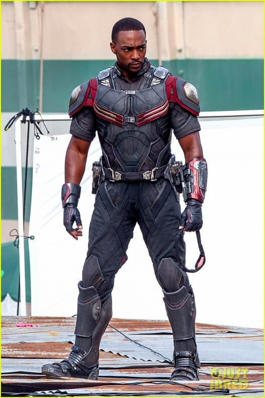 chris evans anthony mackie get to action captain america civil war 13