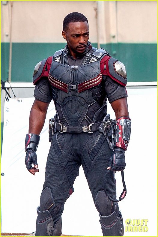 chris evans anthony mackie get to action captain america civil war 23