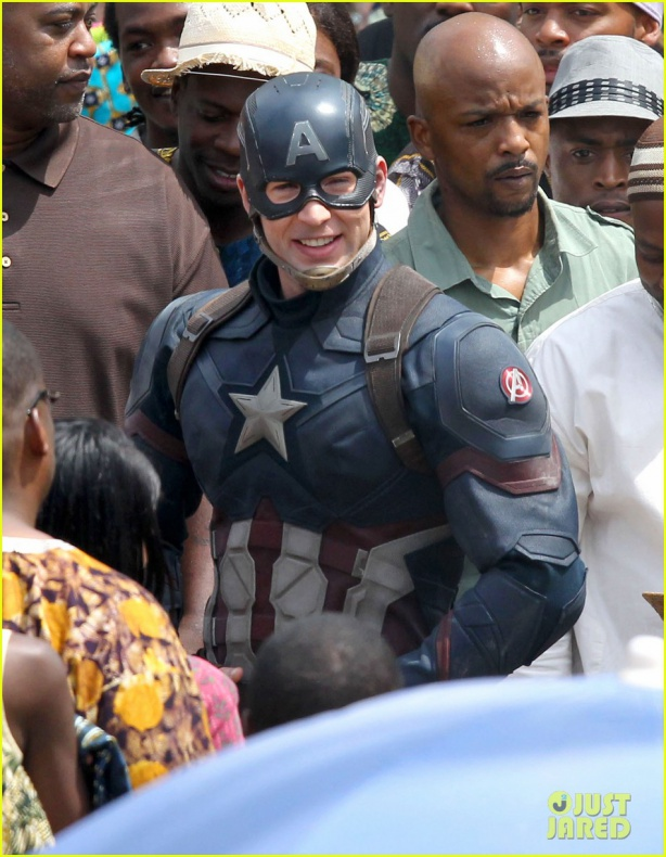 chris evans anthony mackie get to action captain america civil war 45