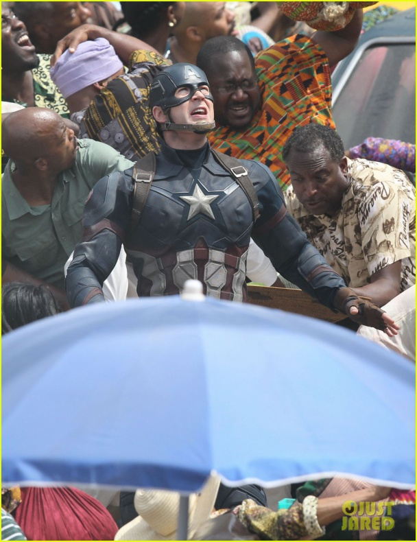 chris evans anthony mackie get to action captain america civil war 47