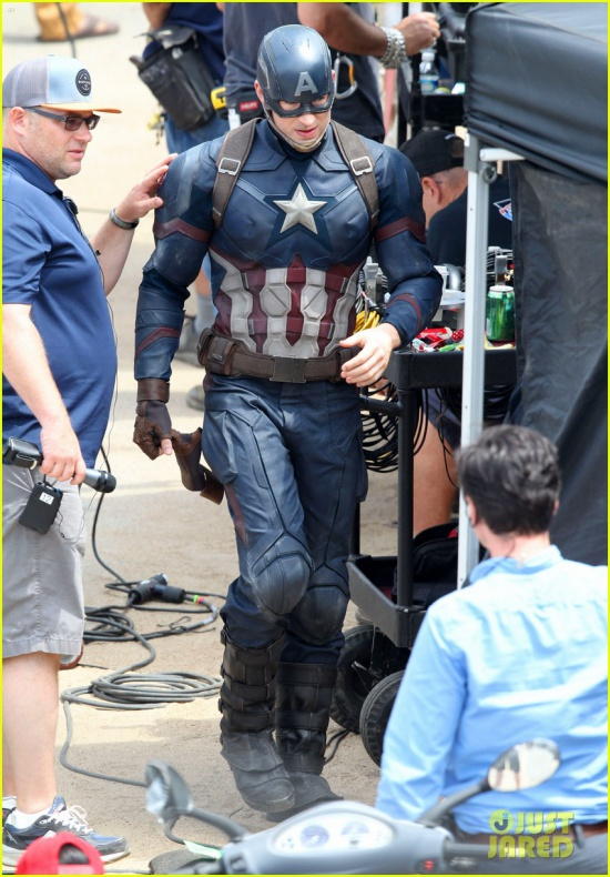 chris evans anthony mackie get to action captain america civil war 49