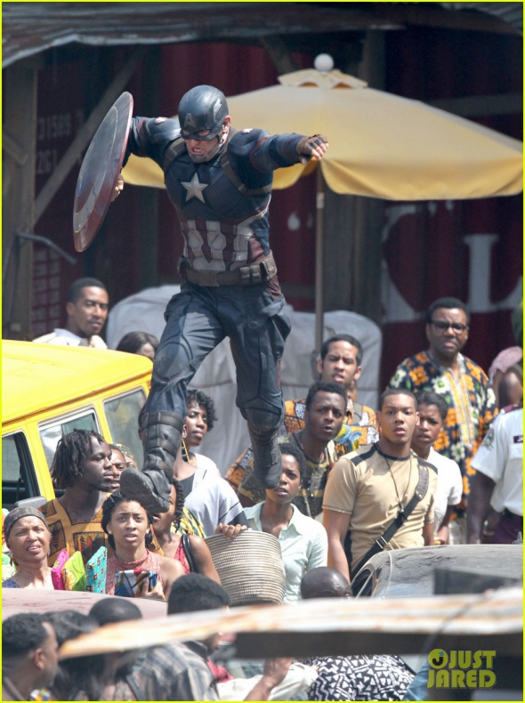 chris evans anthony mackie get to action captain america civil war 50