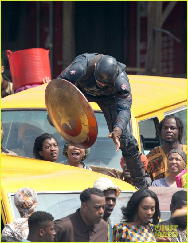 chris evans anthony mackie get to action captain america civil war 52