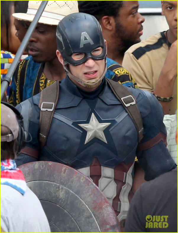 chris evans anthony mackie get to action captain america civil war 53