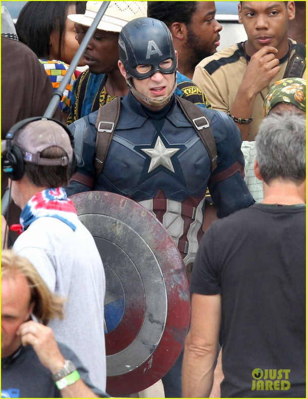 chris evans anthony mackie get to action captain america civil war 54