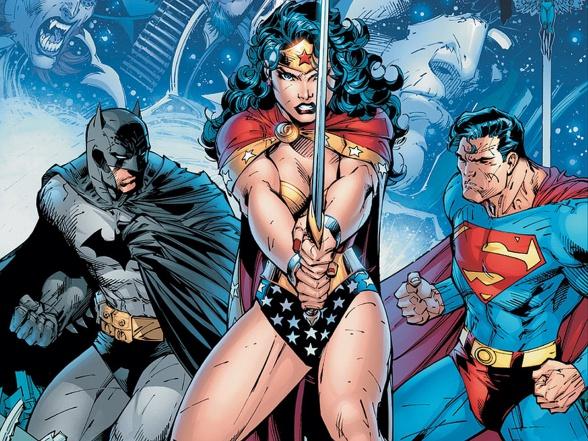 dc wonder woman batman superman