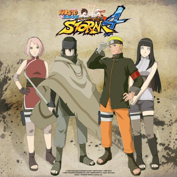 naruto shippuden ninja storm 4