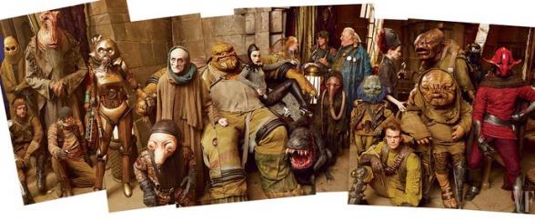 star wars episodio vii criaturas