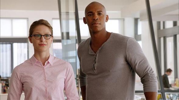 supergirl and jimmy kara