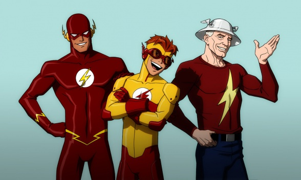 young_justice_flash_family