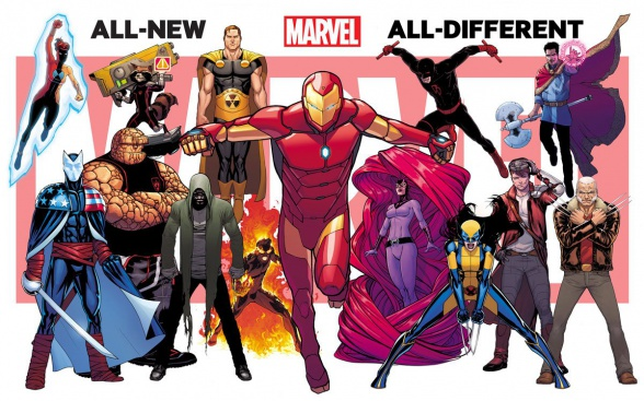 All New All Different Marvel 01