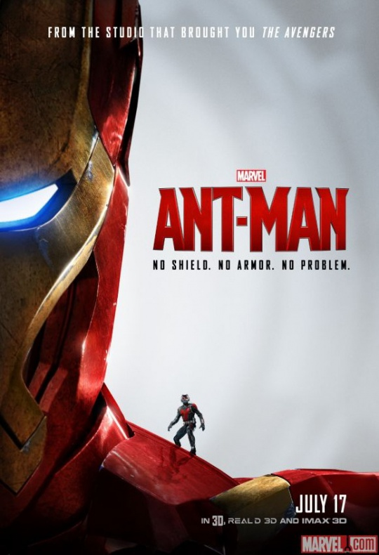 Ant-Man póster Iron-Man