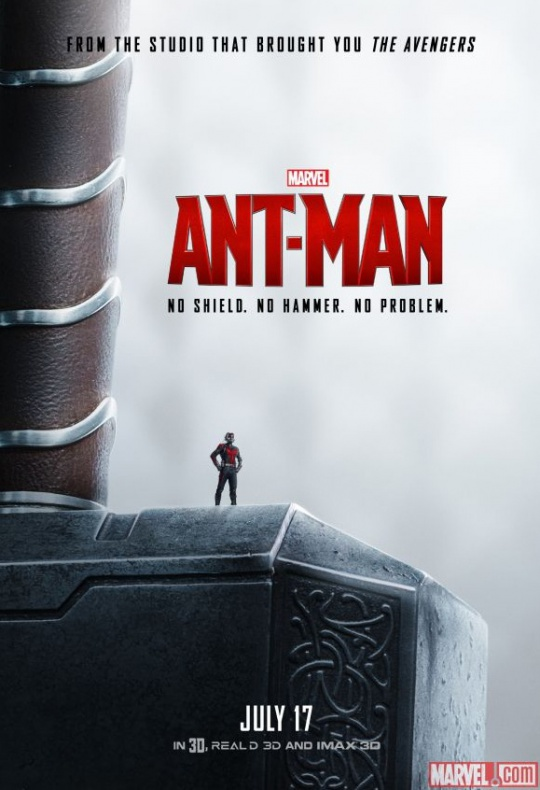 Ant-Man póster Thor