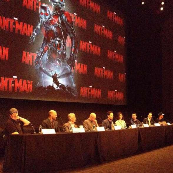 Ant-Man rueda de prensa