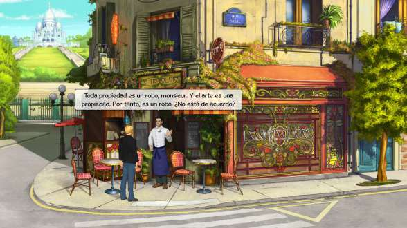Broken Sword 5 - the Serpent's Curse Waiter (Es)